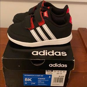 Adidas toddler sneakers size 8